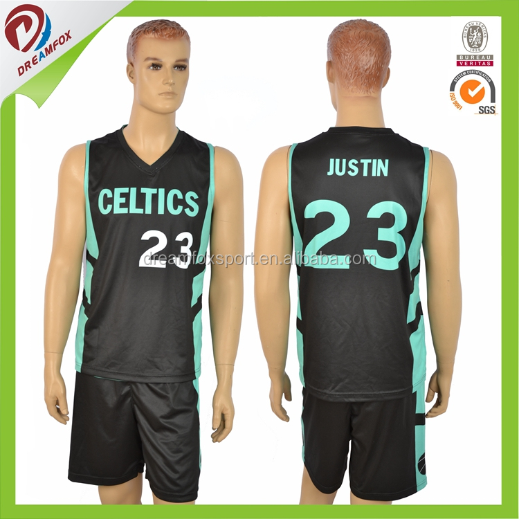 polyester sublimation soccer jersey set uniform custom for adult, new design for basketball jersey