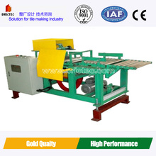 Adjustable green clay brick column cutter