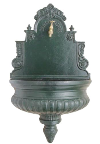 Antique cast iron wall Fountain