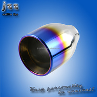 JZZ custom Js Racing universal stainless steel Vehicles exhaust muffler tips pipe for muffler