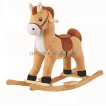 Soft Stuffed Animal Toys Plush Rocking Horse from Direct Factory