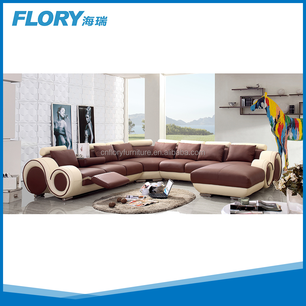 U-shape sectional/Global Furniture/VIG Furniture sectional F822-4#