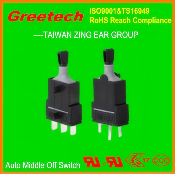 greetech auto electric window switch, 3-way on off on momentary toggle switch