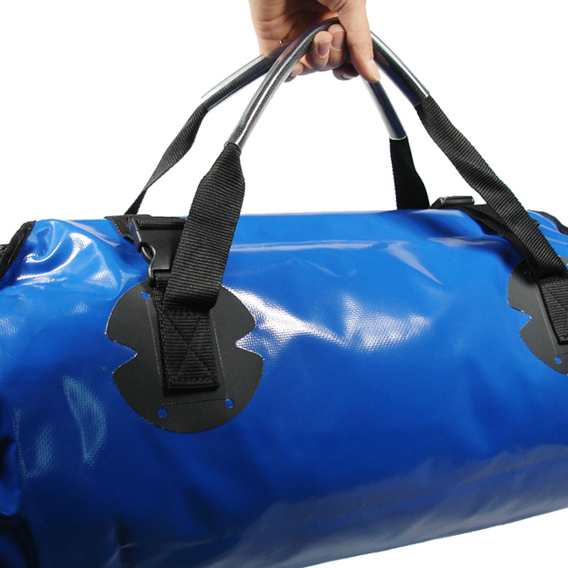 PVC foldable accept customer color with printing logo waterproof outdoor sport day trips camping duffel travel bag