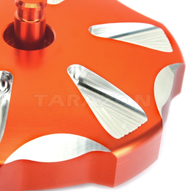 CNC Billet Aluminum Motorcycle gas cap For KTM 250 SX-F 2013 - 2016