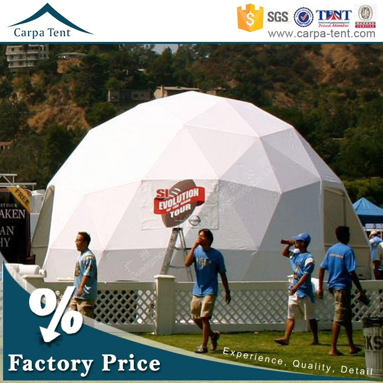 Durable Relocatable 150 Seaters Party Sphere Marquee Tent Sale To Arab
