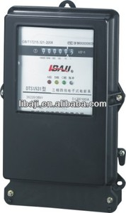 Three Phase Four Wire Electric Kwh Watt hour Static Type Energy Meter Manufactures