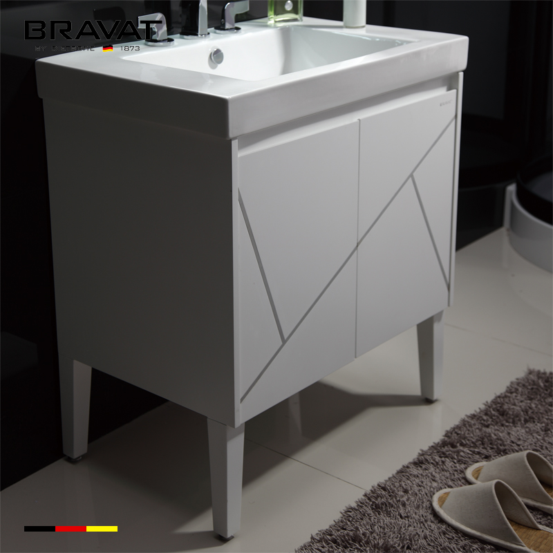 12 Inch Deep Bathroom Vanity No Top Sink Floor Mounted V32310w W View Bravat Product Details From China Gmbh