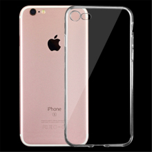 For iPhone 7 Ultra-thin Transparent soft TPU Protective Case