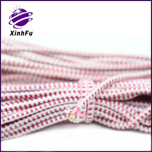 China style traditional classical red round rope, elastic cord, rubber band for game
