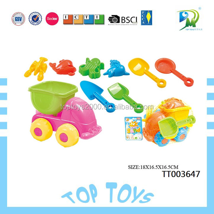 Most popular Summer Beach Toy & Sandy Beach model Toy & Plastic Sand Beach Toys Set for Kids
