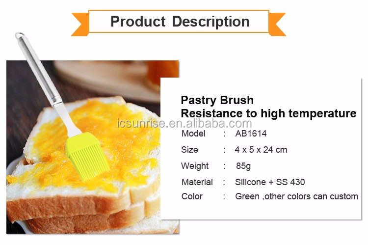 Best Quality Silicone Cleaning Brush BBQ Basting Brush