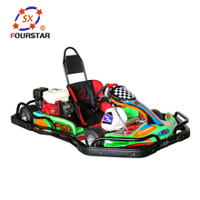 Professional design adults 1 seat racing go kart with new sticker and lifan engine