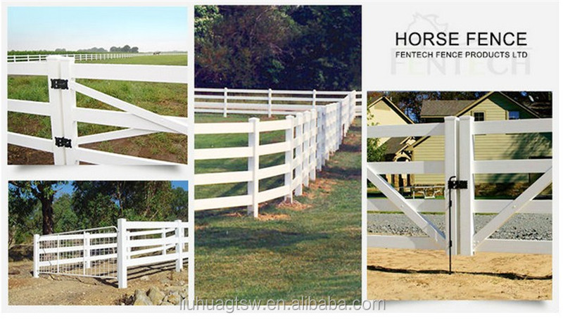 Fence Used For Horse,PVC Horse Fence Panel