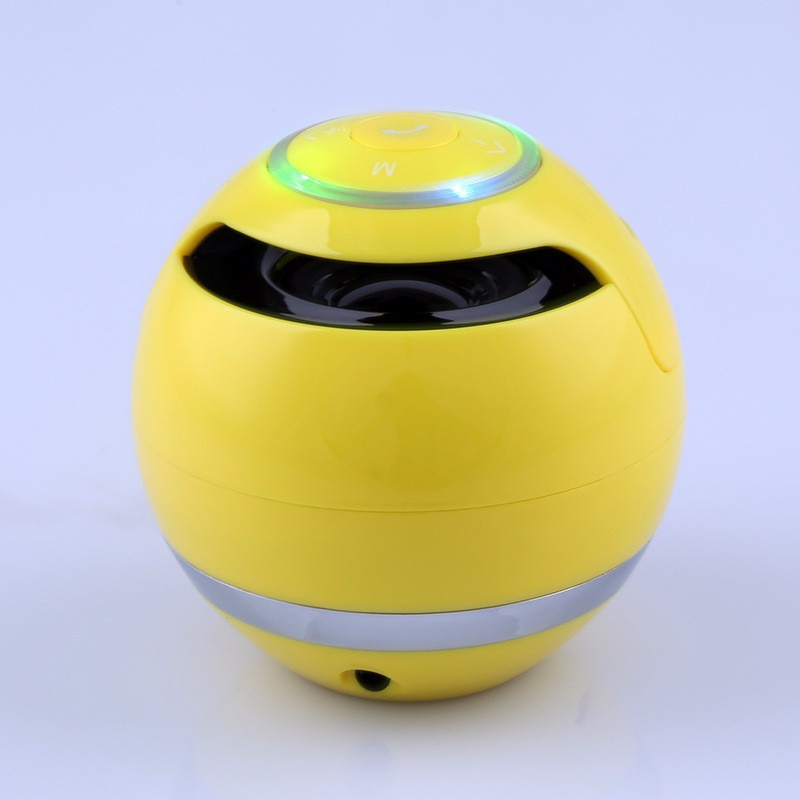 Colorfull ball shape portable bluetooth speaker with TF card, mini bluetooth speaker