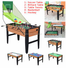 High quality 5 in 1 multi game tables for kids