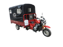 5 Speed With 1 Reverse Gear 150Cc 200cc 250cc Gasoline Engine Chongqing Tricycle With Waterproof Cloth