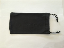 Packing Bag Logo Printing microfiber sun glasses bag sunglasses bag