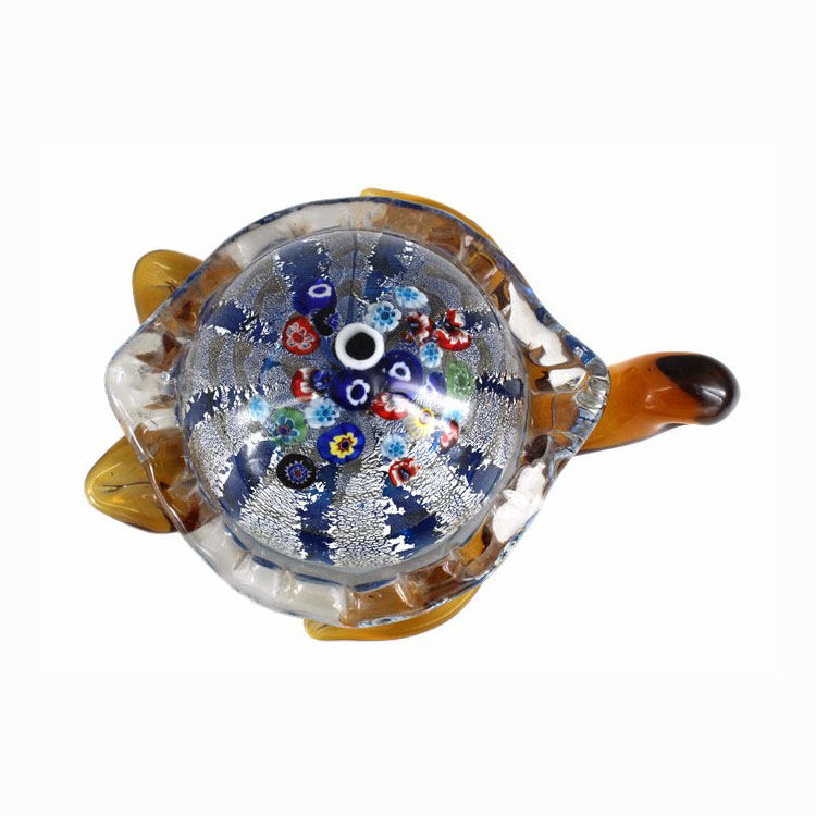 Murano glass tortoise glass animal