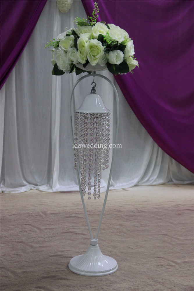 IDA wedding crystal pillars columns stands flowers (IDAP104)