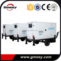 Gmeey factory price 500kva 400kw trailer type genset