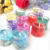 wholesale hot-selling glass candle jar holder with lid