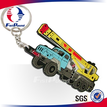 Toy car PVC keychain promotional gift