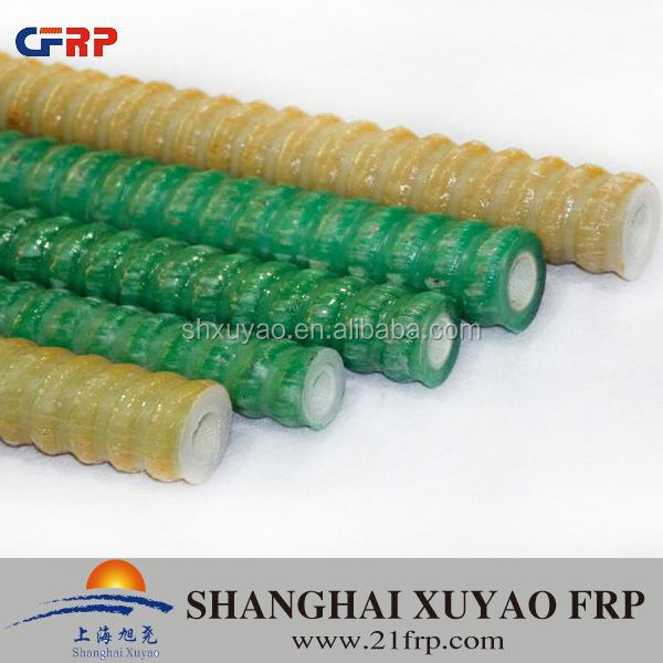 FRP resin hollow type self drilling anchor bolt
