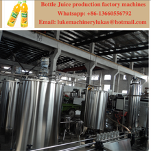 2017 juice filling machine plant / juice bottling production line / juice making factory machines