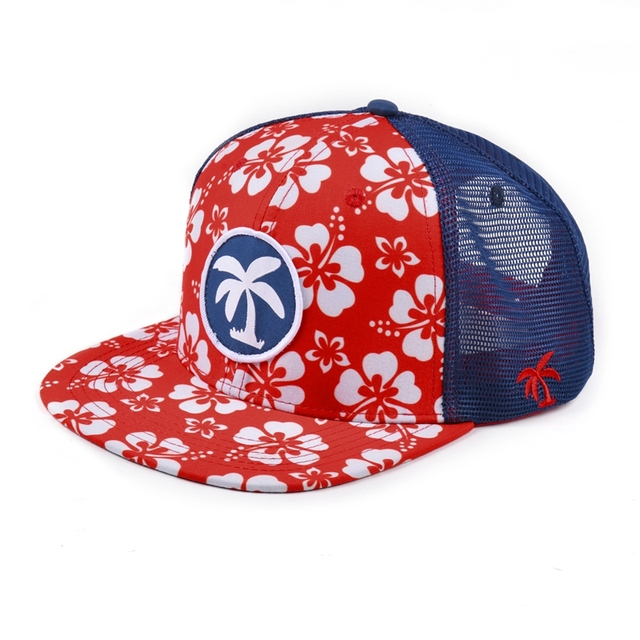 Wholesale snapback hats with mesh/mesh cowboy hats/custom printed mesh hat