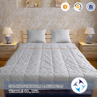 Washable wool filled quilted Duvet