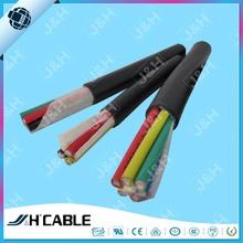300/500V multicores copper conductor pvc insulated and sheathed flexible control cable kvv