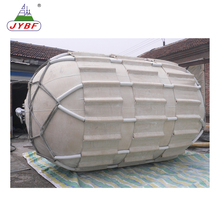 Dock boat fender with high tensile polyamide fiber cord