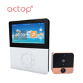 ACTOP Newest Smart Wifi Door Phone with large capacity battery and 4.5inch screen
