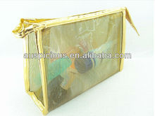 2012 Hot sale Clear PVC bag for cosmetic packaging