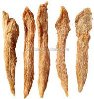 Freeze dried flavor duck jerky pet food dog treats