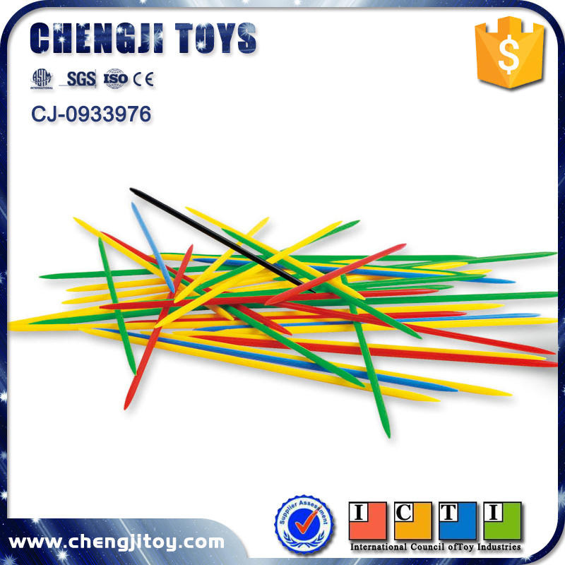 mikado play set pick up sticks game plastic educational counting toys