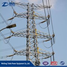 Alli baba com 33kv 132kv Galvanized Steel Electricity Transmission Line Tower