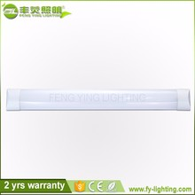 2017 new arrival simple 1200lm IP55 Clear and frosted cover 12 volt led batten