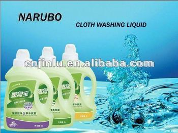 Clothes Washing Liquid laundry detergent formulations
