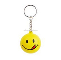Custom make Keychains holder soccer football/design 3d plastic key chain ring factory/OEM pvc keyring supplier