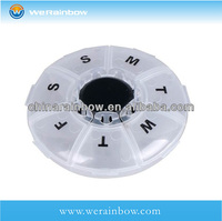 wholesale plastic 14 day pill box