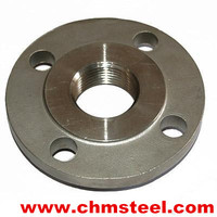 carbon steel threaded flange dimensions with favorable price of china flange manufacturer