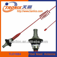 red color auto fm antenna booster/ universal roof auto am fm radio antenna with amplifier booster TLD1684(OEM mnufactorer)