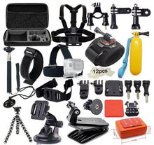 20 in 1 Action Camera Accessories Mounting kits For <strong>GoPro</strong> 7 6 5 4 3+ SJ5000