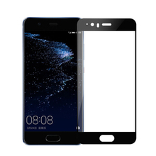 Full Cover Anti-explosion silk printing Tempered Glass Screen Protector for Huawei P10