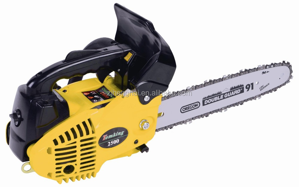 Portable cheap chainsaw/tree saw machine wood cutting machine 2500 /25cc tree cutting equipment for sale