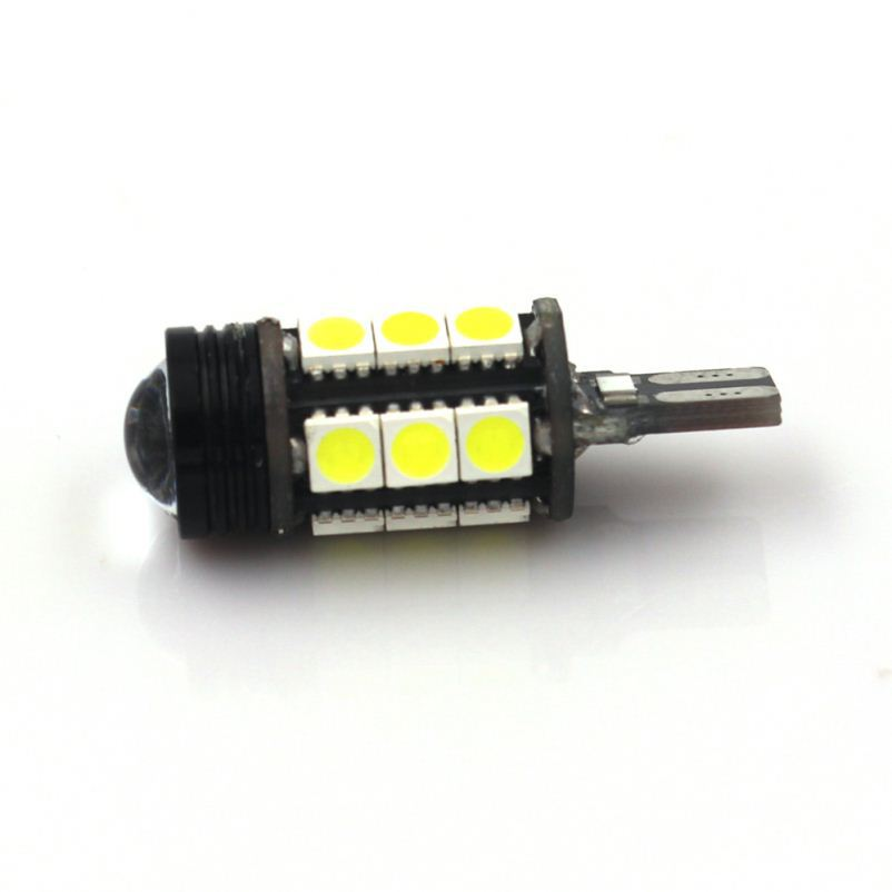 2016 new design free error 4smd 5730 canbus led w5w t10 led high quality 5630 6 car bulb replacement