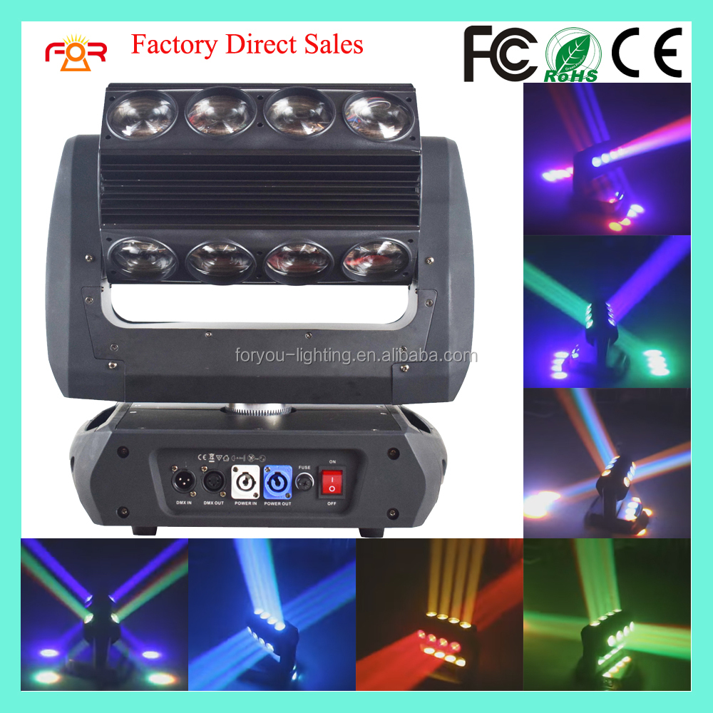 Three Years Warranty Elation Professional ACL 360 Roller Beam 4in1 RGBW 16*25w LED Beam Moving Head Light
