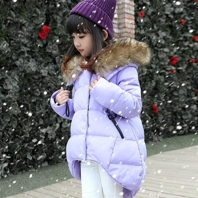 zm52474a 2017 Wholesale Best Sellers Girls Winter Coats Hooded Winter Cost Girls